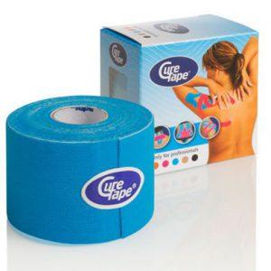 Curetape blauw 5 m x 5 cm