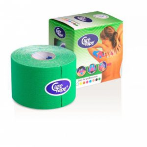 Curetape groen 5 m x 5 cm