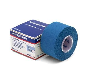 Leukotape classic 10 m x 3,75 cm blauw