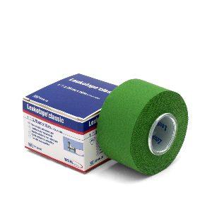 Leukotape classic 10 m x 3,75 cm groen