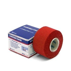 Leukotape classic 10 m x 3,75 cm rood