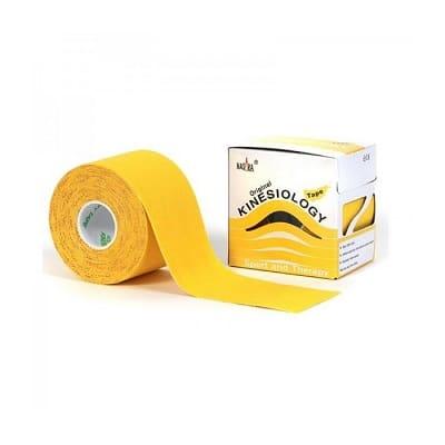 Nasara Kinesiologie tape geel 500 x 5 cm